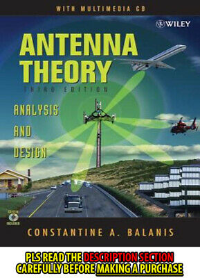 ANTENNA THEORY: ANALYSIS and Design by Constantine A