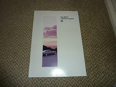 BMW 3 Series Coupes brochure 1994.