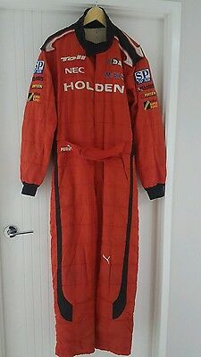 2009 Holden Racing Team race suit, V8Supercars HRT