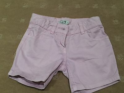 Miss Sixty Girls Pink Shorts  Size 8A   Good Condition