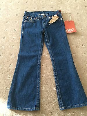 True Religion Boy / Girl Denim Jeans  Size 6 Years  Brand New With Tags