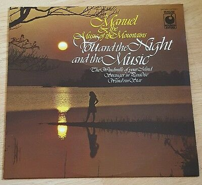 MANUEL AND THE MUSIC OF THE MOUNTAINS You And The Night And The Music LP 1970