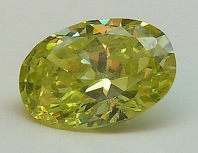 AAA CA 1,19 CT 7,00x5,00 MM OVAL CZ / COLOUR OLIVE no. 32/ CZ / AAA