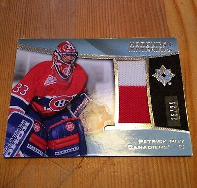 2015'16 UD Ultimate Honoured Materials Jersey /35 Patrick Roy Canadiens