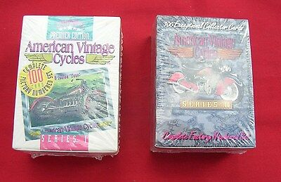 American Vintage Cycles Collector Cards Series 1 & 2