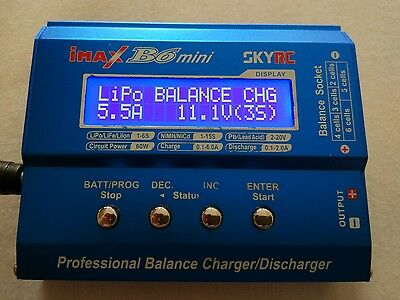 Genuine SKYRC iMAX RC Model B6 mini Balance Charger & Power supply included