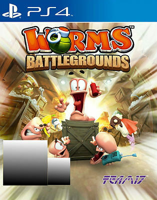Worms Battlegrounds (Sony PlayStation 4, 2014)
