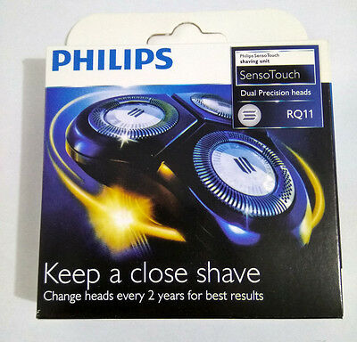 3XGenuine Philips Models 1150X-1180X Norelco RQ11 Sensotouch 2D Replacement Head