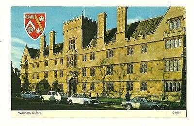 Oxford - a photographic postcard of Wadham College