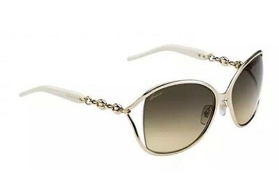 Authentic Gucci 4250/S Sunglasses Gold Frame With Case Designer