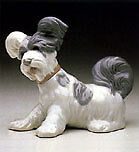 LLadro porcelain: Skye Terrier. Circa 1970-85 from Spain