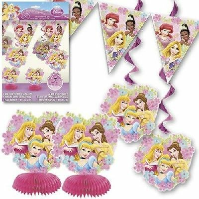 7PC Disney Princess Decoration Kit Birthday Party Decoration