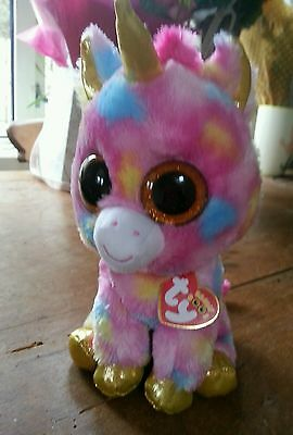 Large Big Eyes Ty Beanie Boo Fantasia NEW with Tags