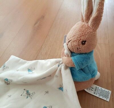 marks and spencer peter rabbit comforter soother plush soft toy babies m&s BNWT