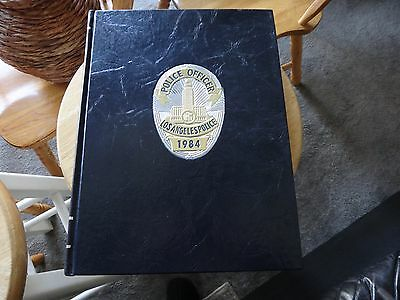 Los Angeles Police Dept Commemorative Historical Book 1869 - 1984