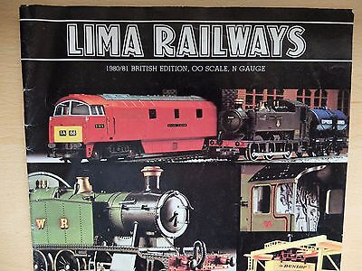 Hornby 1979 and LIMA railways 1980/81 catalogues