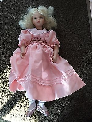 """Collectible doll  Pauline """"Belle"""" LE 372 of 950 w/box, COA, 12"""" tall"""