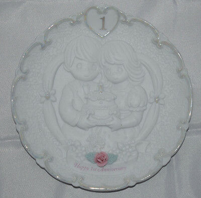 Precious Moments - 1st Anniversary Collectible Plate