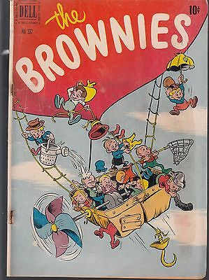 Brownies  #337  1951 Funny Characters / Humor  Gd  Dell 4-Color