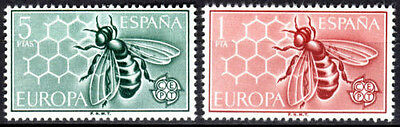 Spanish Stamps - 1962 Europa In Mint Condition Set Of 2