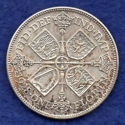 Great Britain, George V, 1928 Florin, High Grade (Ref. c3387)