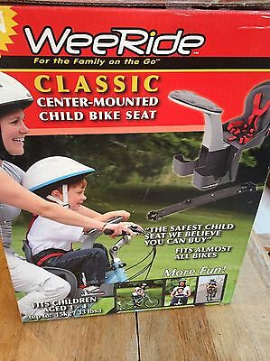 WeeRide Classic Center-Mounted Child Bike Seat