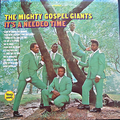 The Mighty Gospel Giants:It`s a Needed Time     US Veep LP