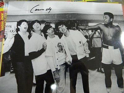 Beatles with Cassius Clay /AKA Muhammad Ali Auto!