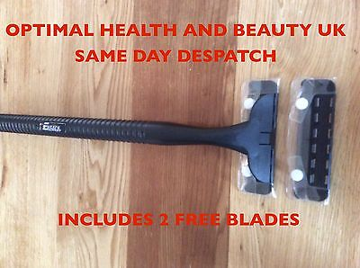 Back Shaver Blade Razor Long Arm With Replacement Blades  Uk Seller