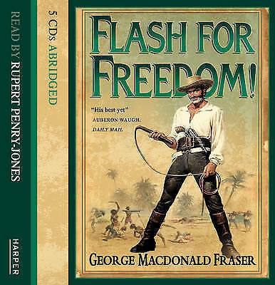 Flash for Freedom! - CD 5 Disc AudioBook - New & Sealed