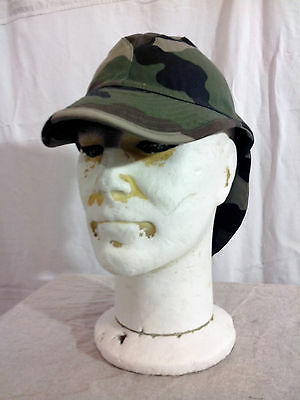 Casquette Armee Francaise Bigeard Camouflage Centre Europe Neuve