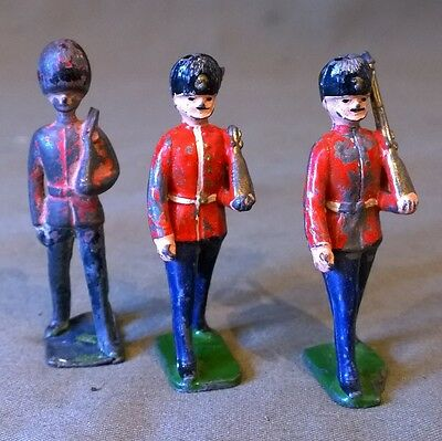 Vintage Lead Toy Soldiers X3 (Lot 6)