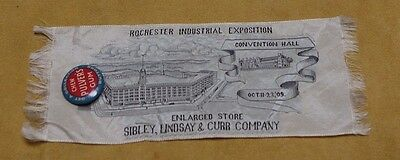 1909 Stevensgraph Rochester Industrial Exposition Sibley Lindsay Curr Pulver Gum