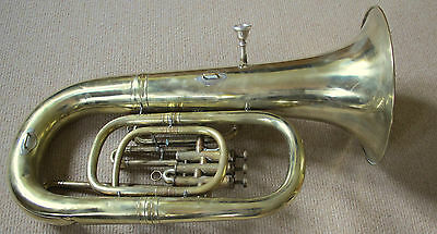 Weltklang E Flat Tuba 3 Valve, Small Size, With Mouthpiece
