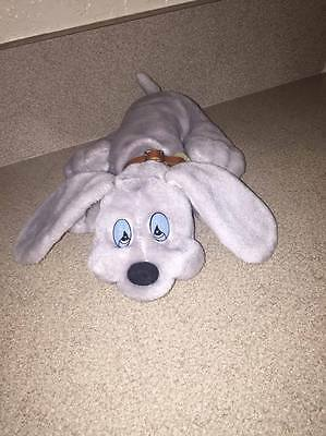 1985 JRL  toys GRAY LITTLE  LONELY PUPPIES PLUSH