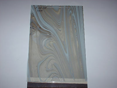 Tiffanyglas, 1 x Spectrum BR 308 - 6, 3mm stark.