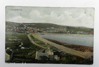 Old Vintage Postcard Goodwick And Beach Pembrokeshire Wales