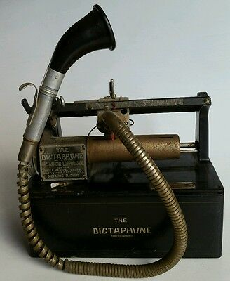The Dictaphone Model 10X by The Dictaphone Corporation New York USA VINTAGE