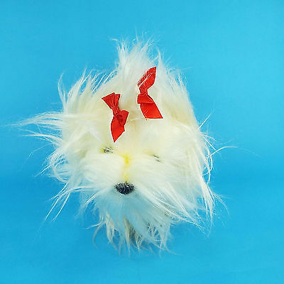 FAO Schwarz Plush Puppy Dog Stuffed Animal Shih Tzu Maltese