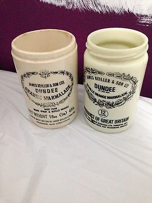 James Keiller & Sons Ltd Of Dundee, 2 Collectible Pots