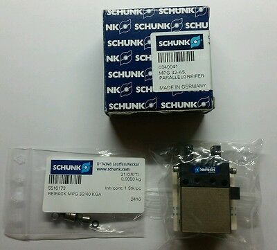 Schunk  2 Finger Parallel Gripper  MPG 32 AS   340041
