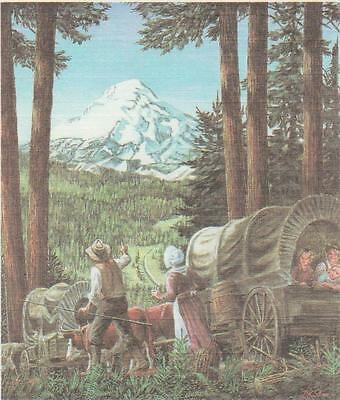 First day of issue, 1993, The Oregon Trail, Scott # 2747