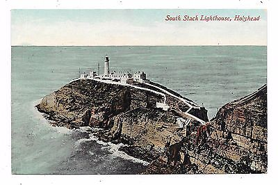 Nice Printed Postcard Of South Stack Lighthouse Holyhead Anglesea