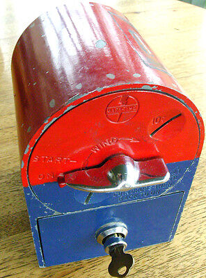 Mark Time Vibrating Coin Operated Bed Timer Painted like a USPS Mailbox