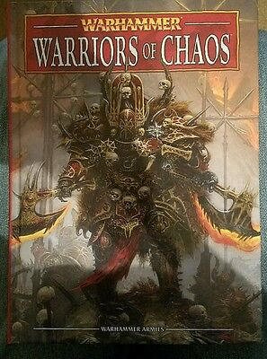 Games Workshop Warriors Of Chaos Book - 8th Edition, OOP