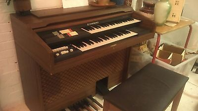 Hammond organ - Wilson Peck and stool