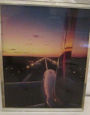 Rare Airbus A310-300 41st AGM Oct 1985 Electronic Picture Desk Ornament