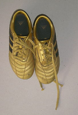 Adidas Rugby Foot Chaussure Crampon Plastique  Or Doré  P.32