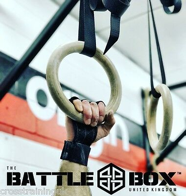 BattleBox UK™ Ultra WOD Gloves With Wrist Support CrossFit WOD UK