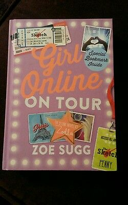 Girl Online on Tour Zoe Sugg hardback book NEW